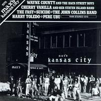 Max's Kansas City 1976 front covert