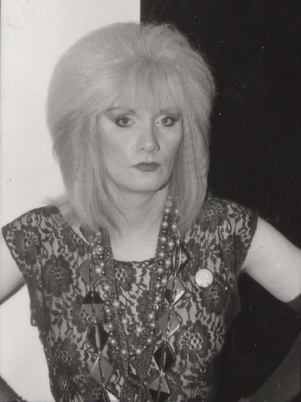 Jayne black and white photo
