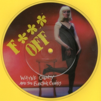 Fuck Off picture disc (front)