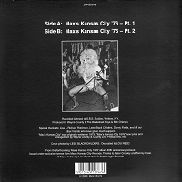 Max's Kansas City back cover