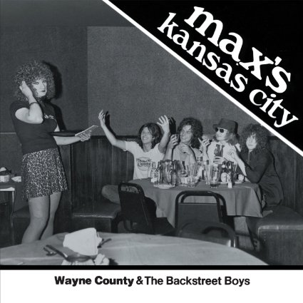 Max's Kansas City front cover